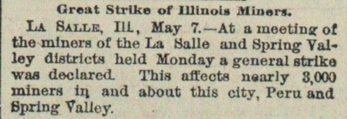 Great Strike Of Illinois Miners image
