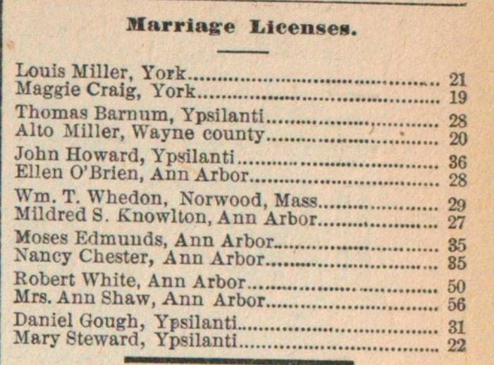 Marriage Licenses image