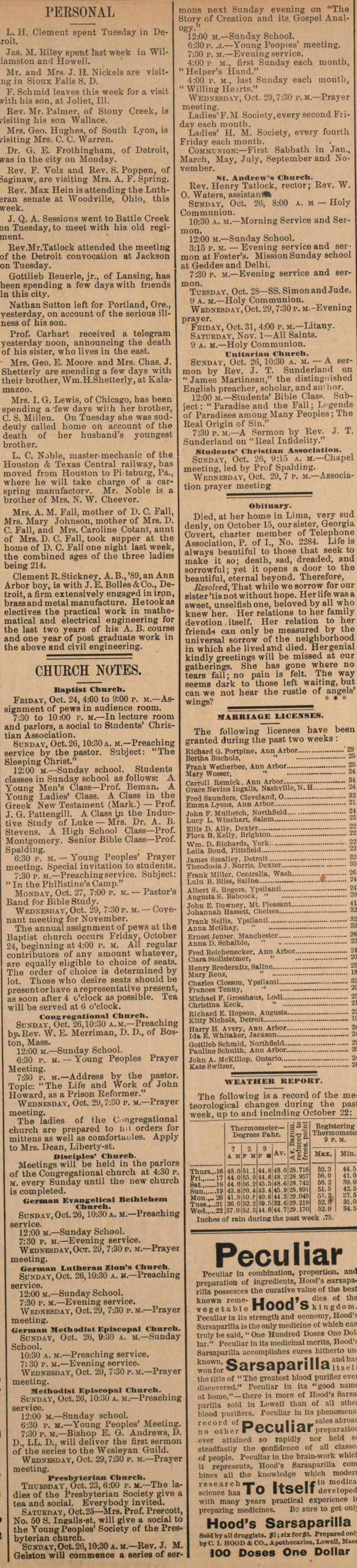 Church Notes image
