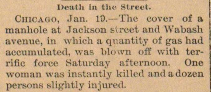 Death In The Street image
