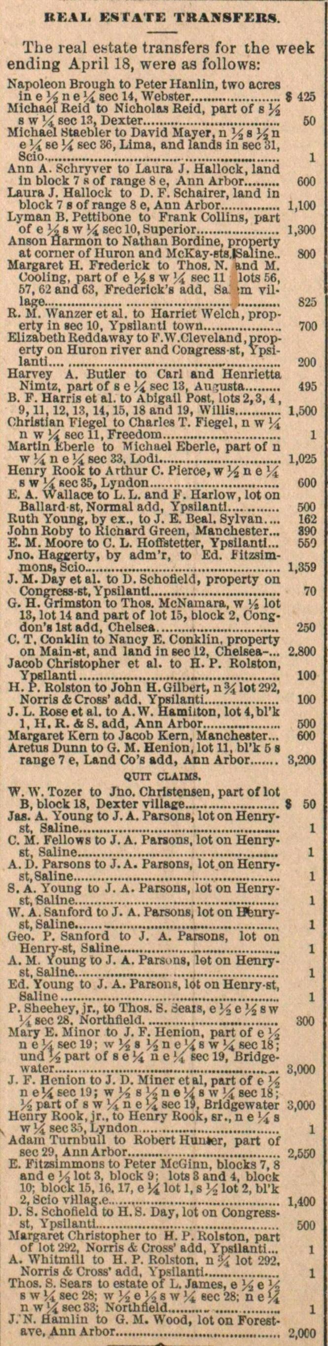Real Estate Transfers. image