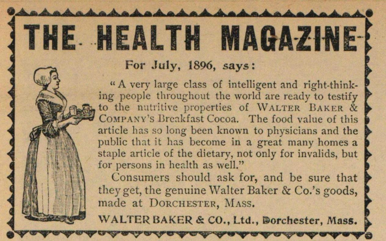 Walter Baker & Co., Ltd. image