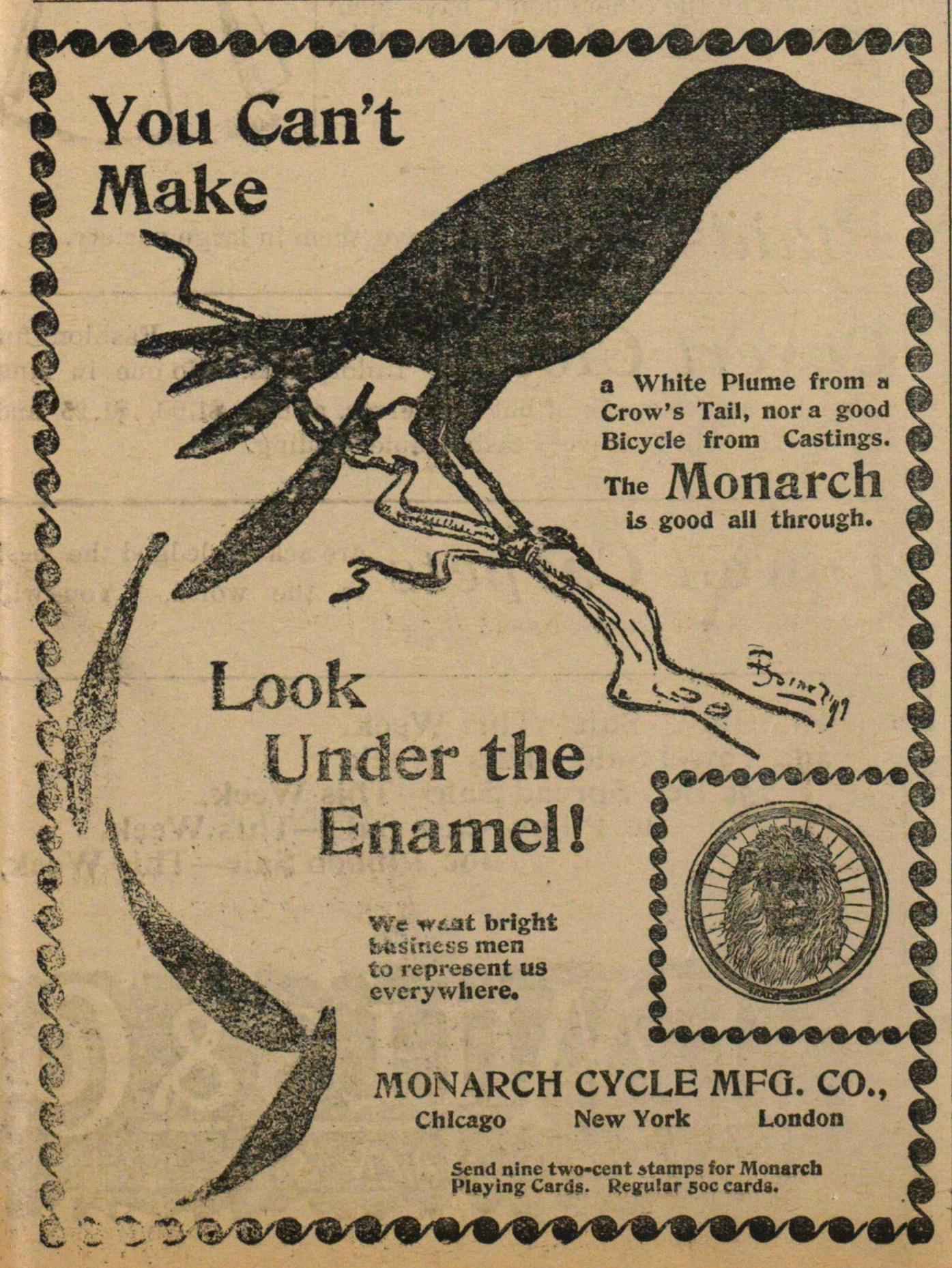 Monarch Cycle Mfg. Co. image