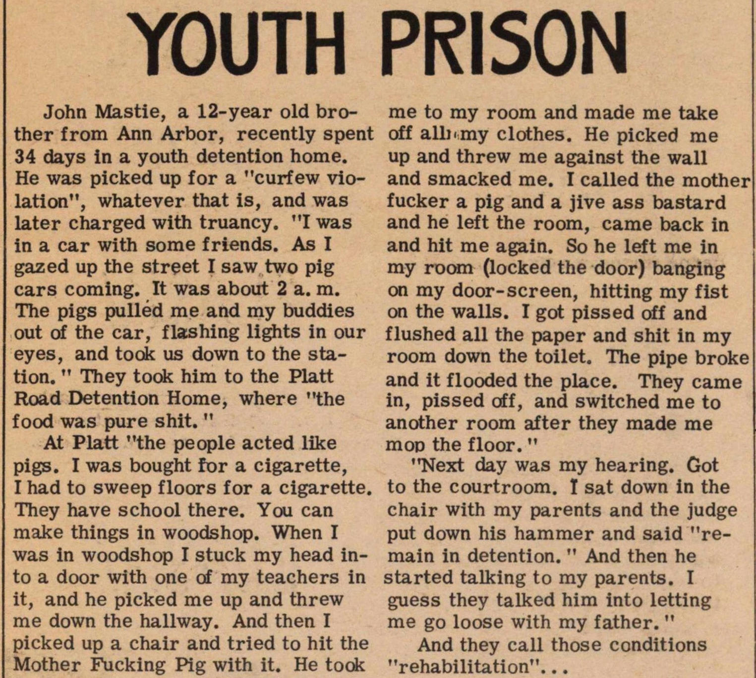 Youth Prison image