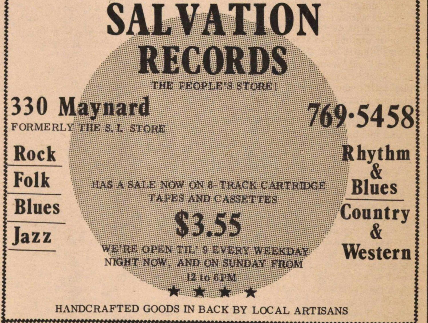 Salvation Records image