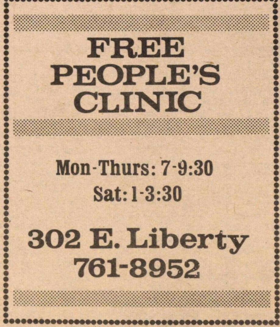 Free People's Clinic image