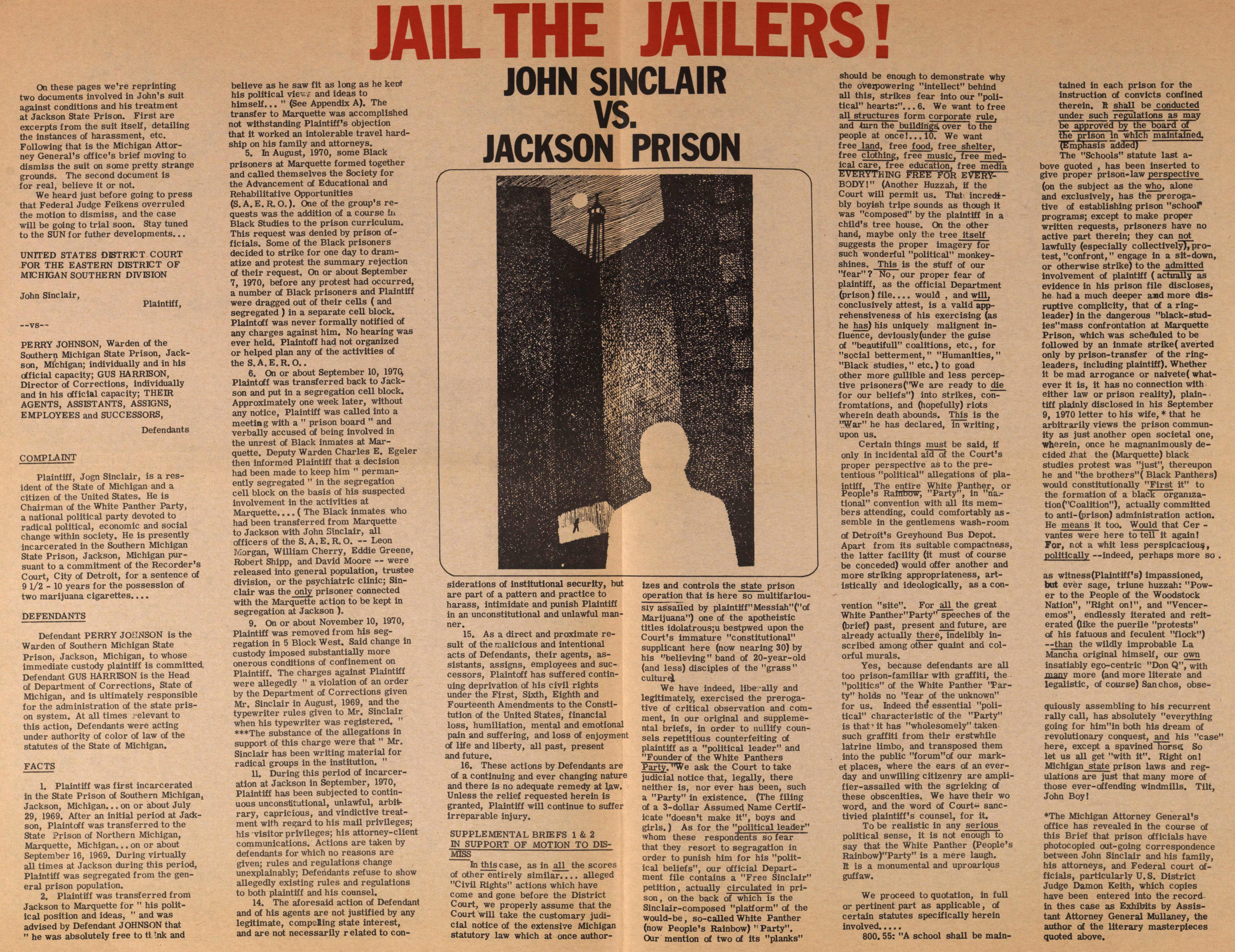 Jail The Jailers! image