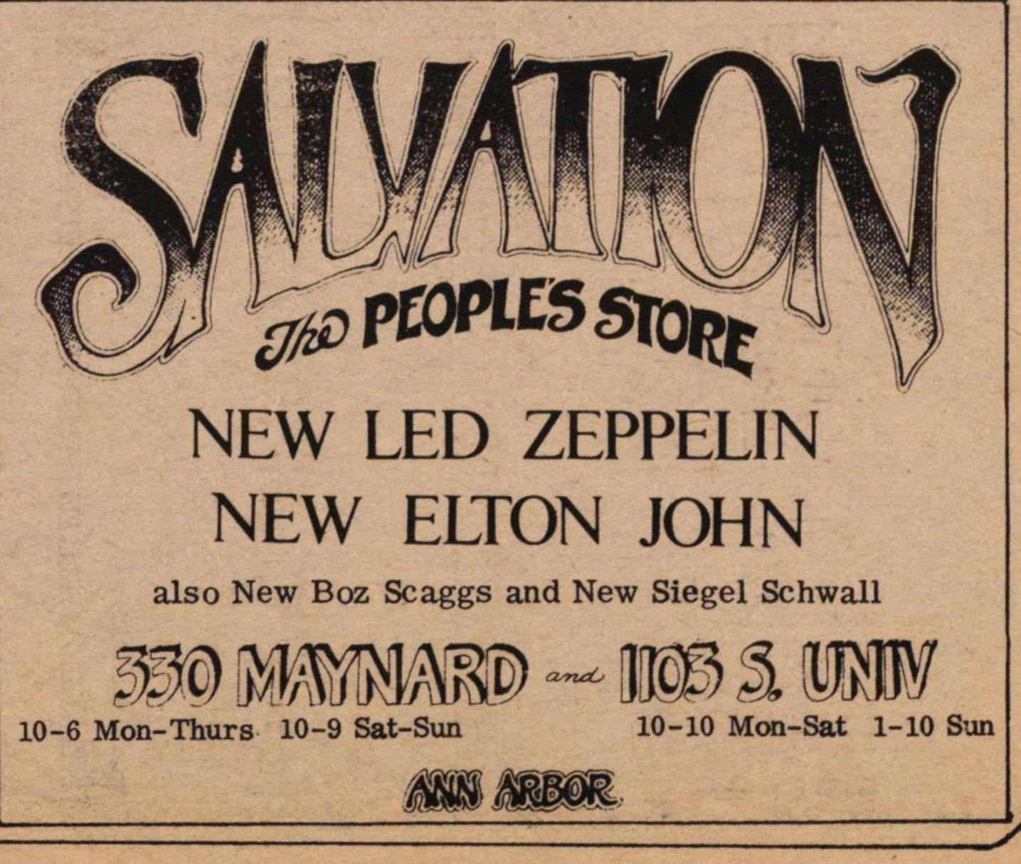 Salvation The People's Store image