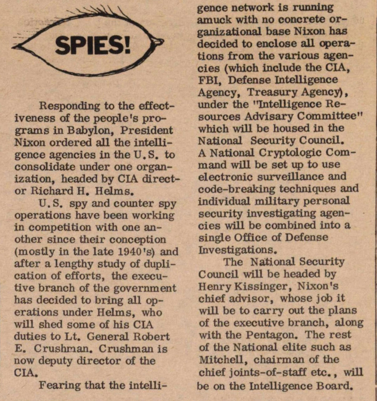Spies! image