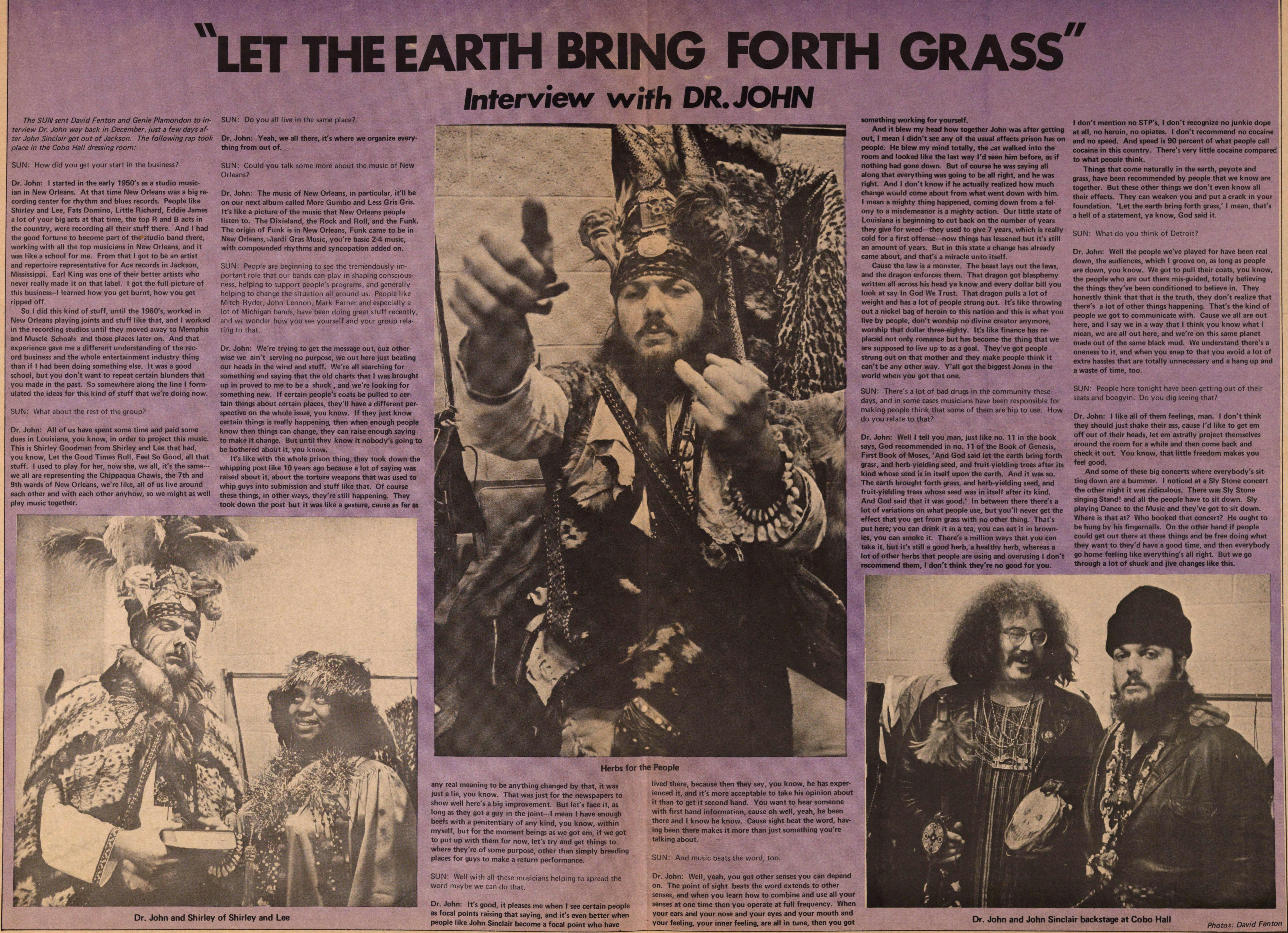 """let The Earth Bring Forth Grass"" image"
