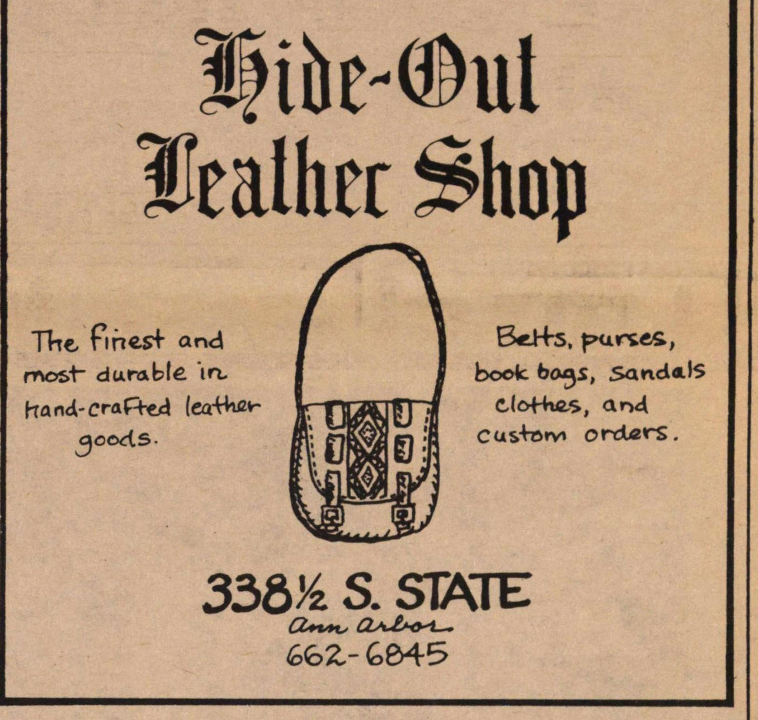 Hide-out Leather Shop image