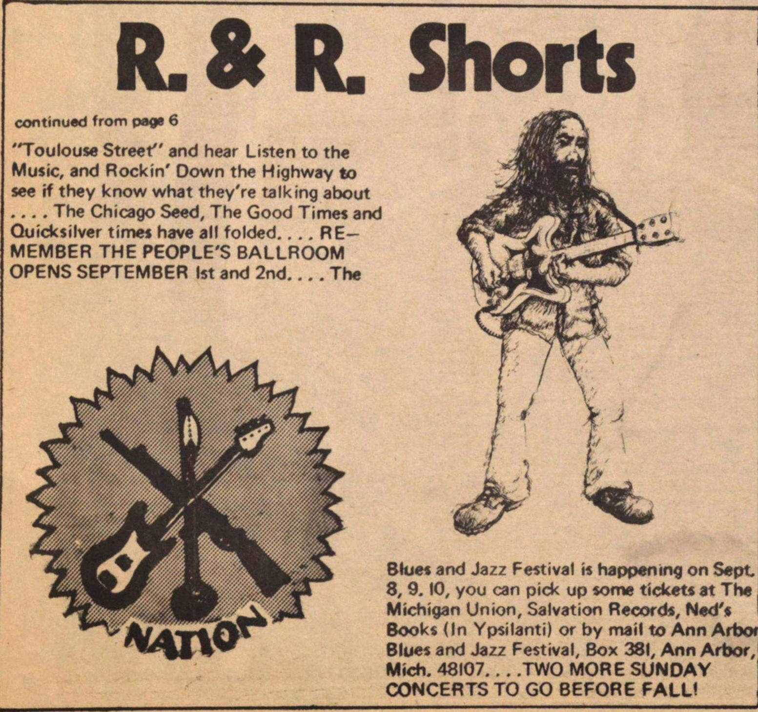 Rock & Roll Shorts image