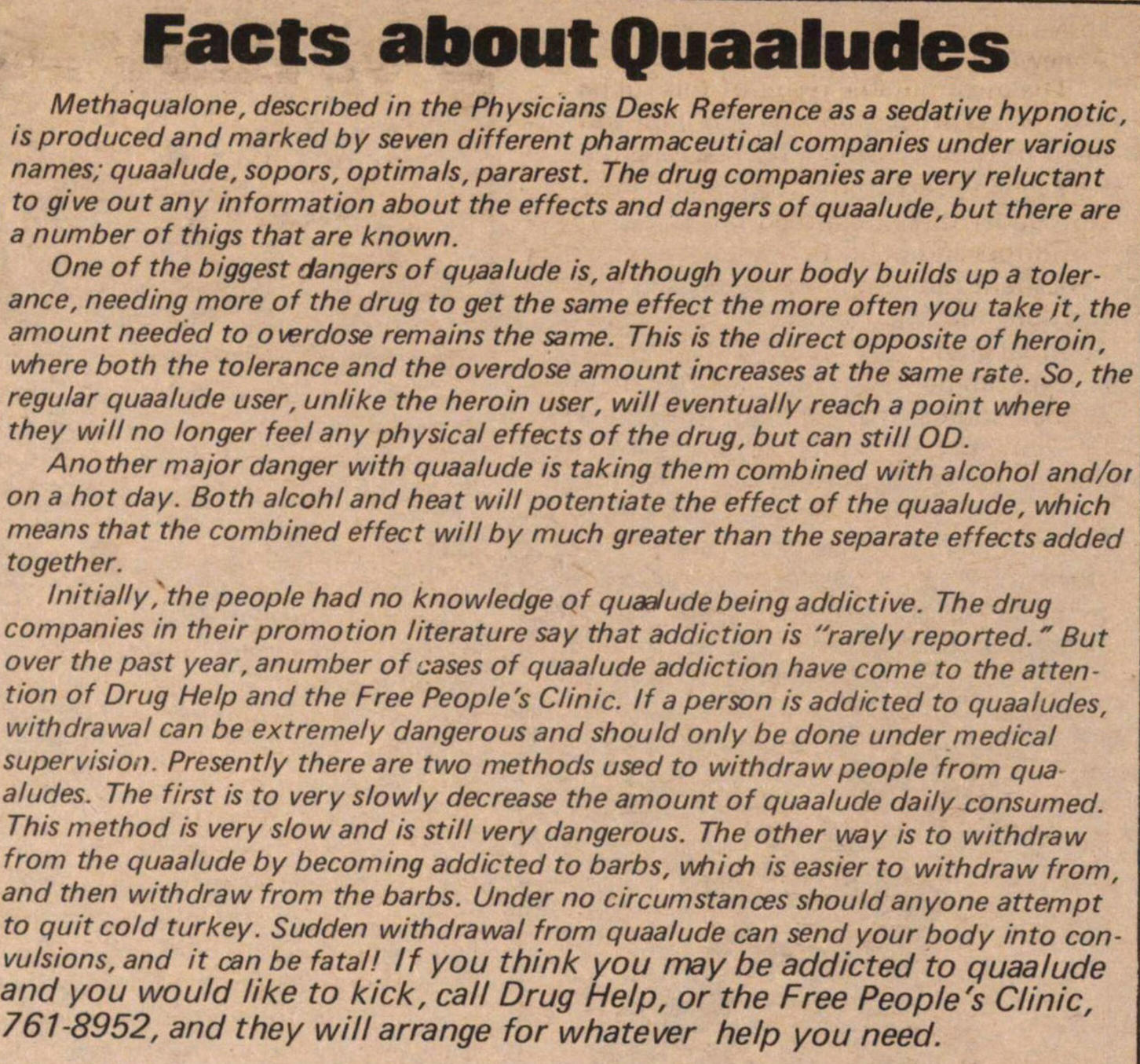 Facts About Quaaludes image