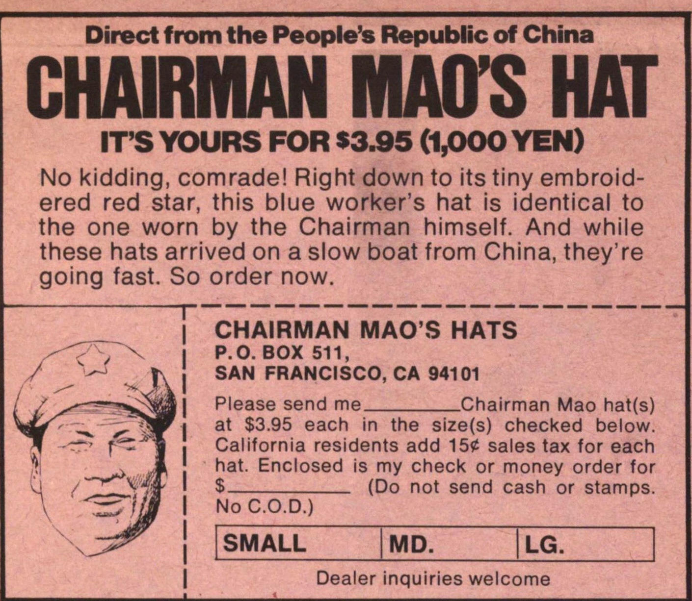 Chairman Mao S Hat