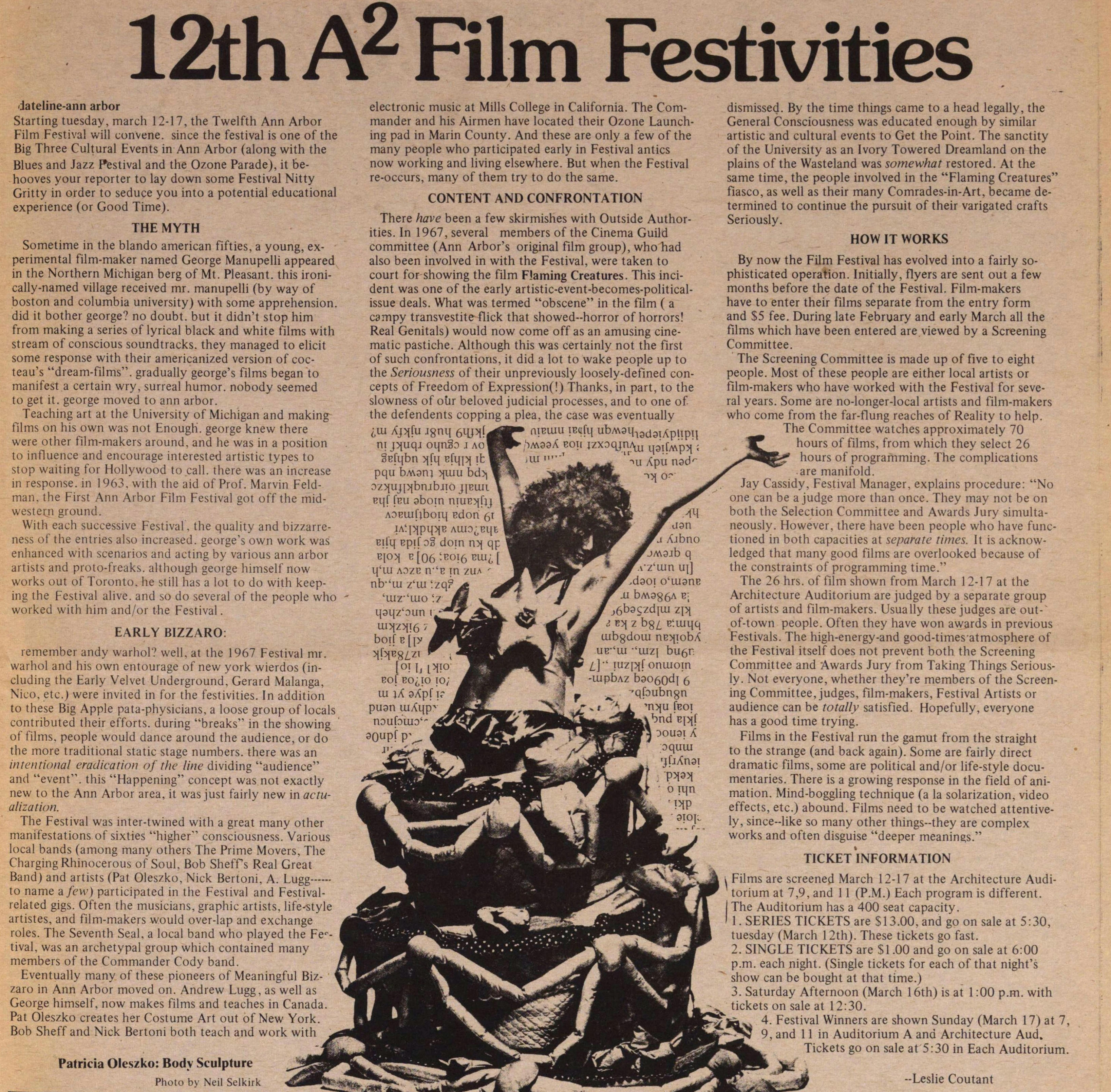 12th A2 Film Festivities image