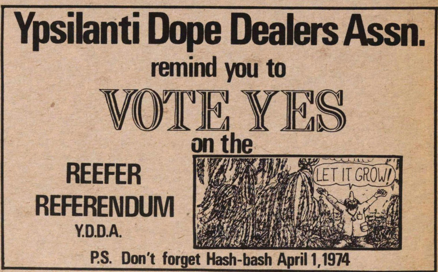 Ypsilanti Dope Dealers Assn. image