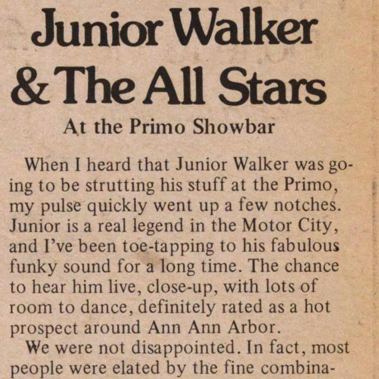 Junior Walker & The All Stars image