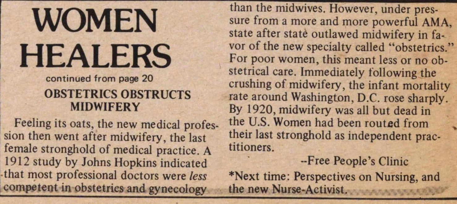 Women Healers Part Ii image