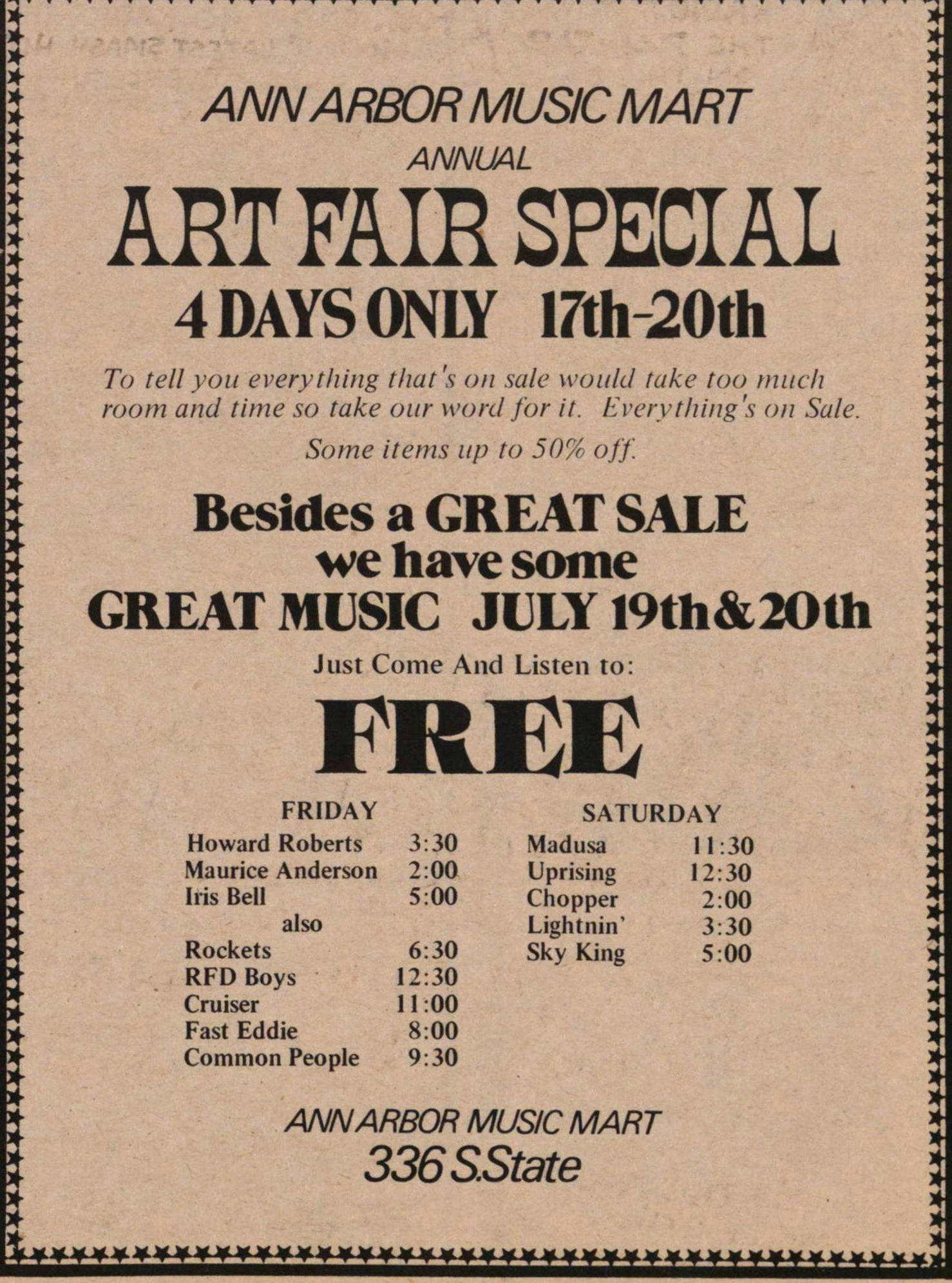 Art Fair Special image