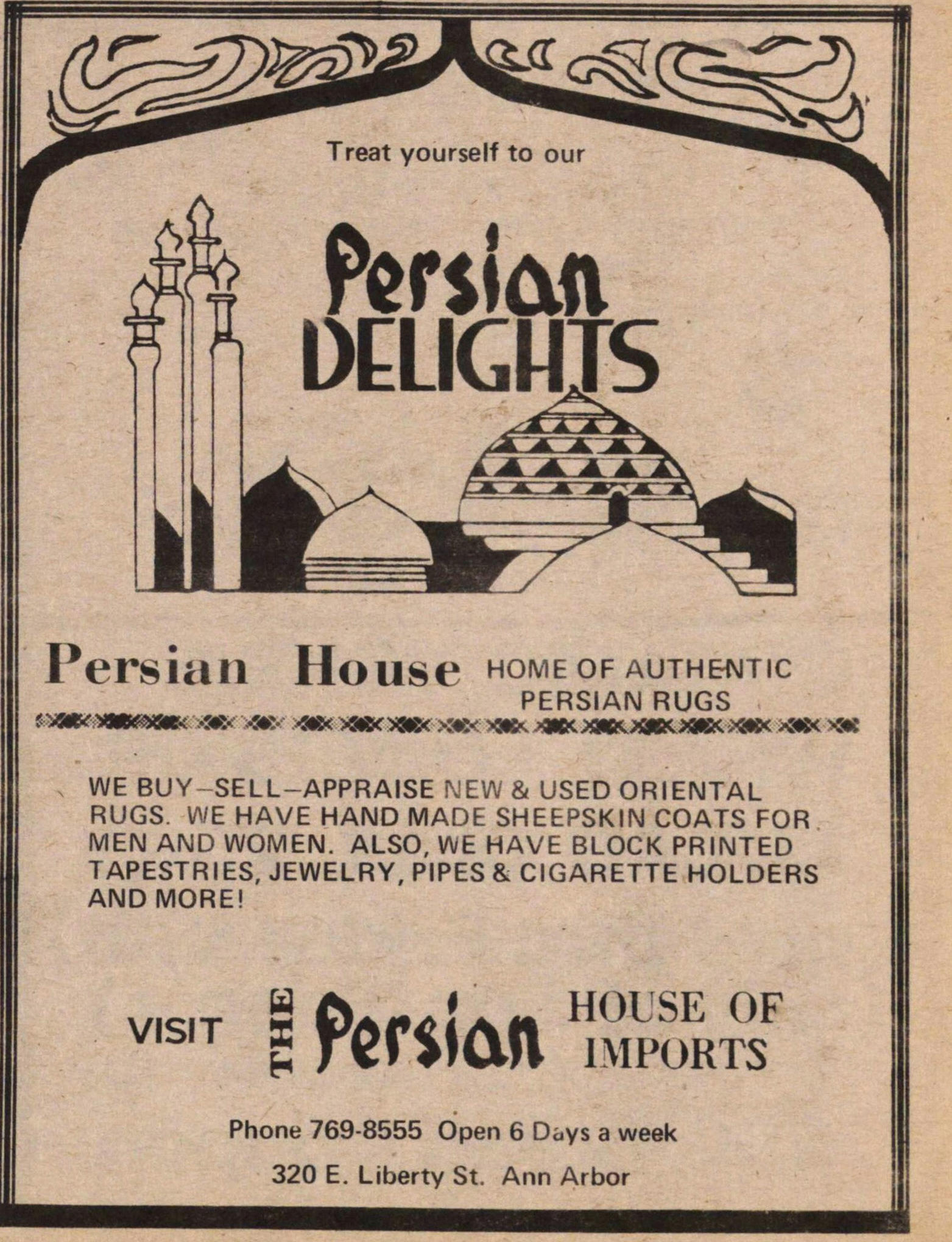 Persian Delights image