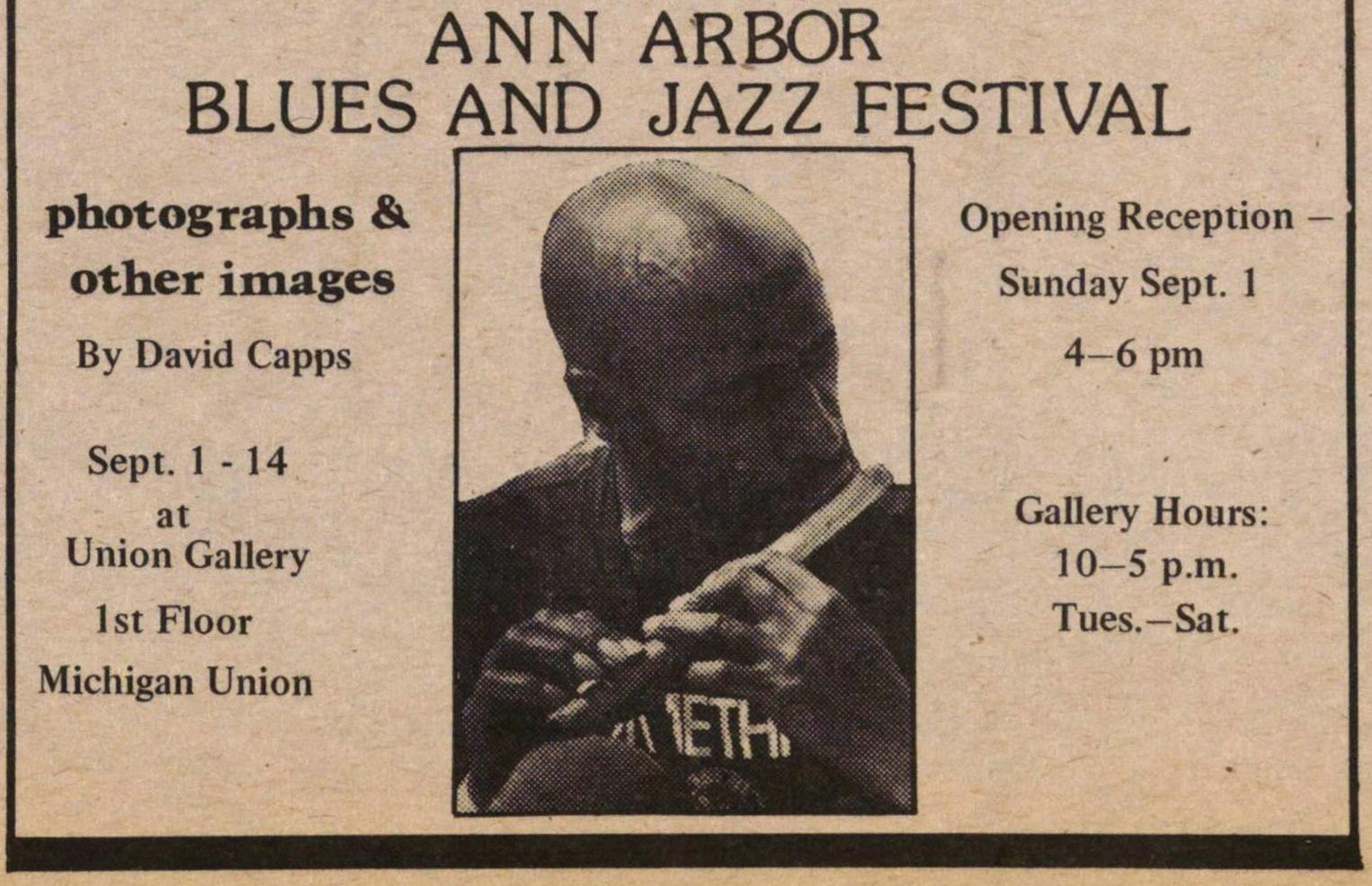 Ann Arbor Blues And Jazz Festival image