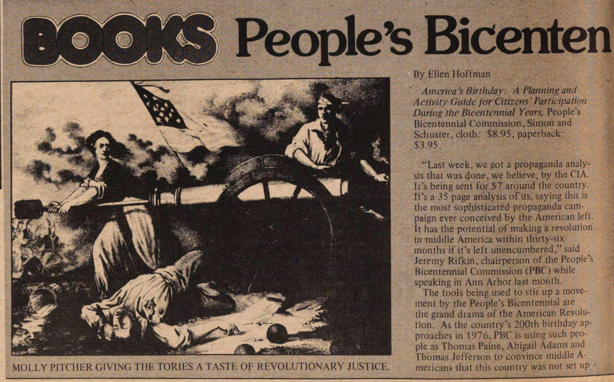 Books People's Bicentennial image