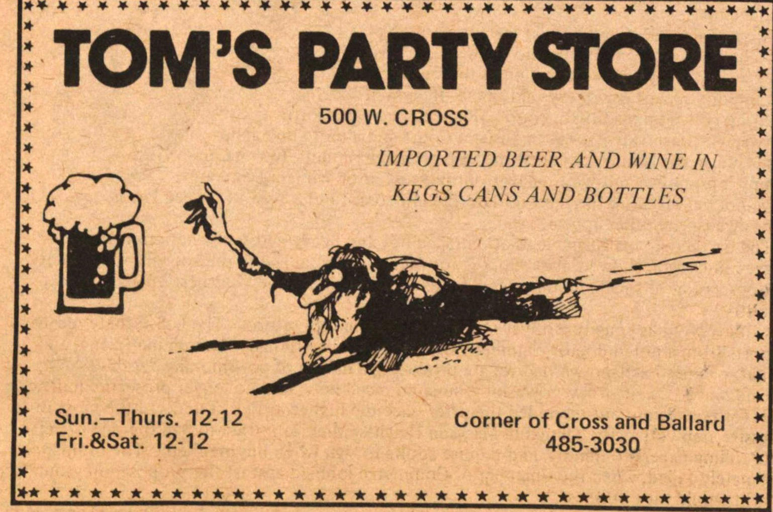 Tom's Party Store image