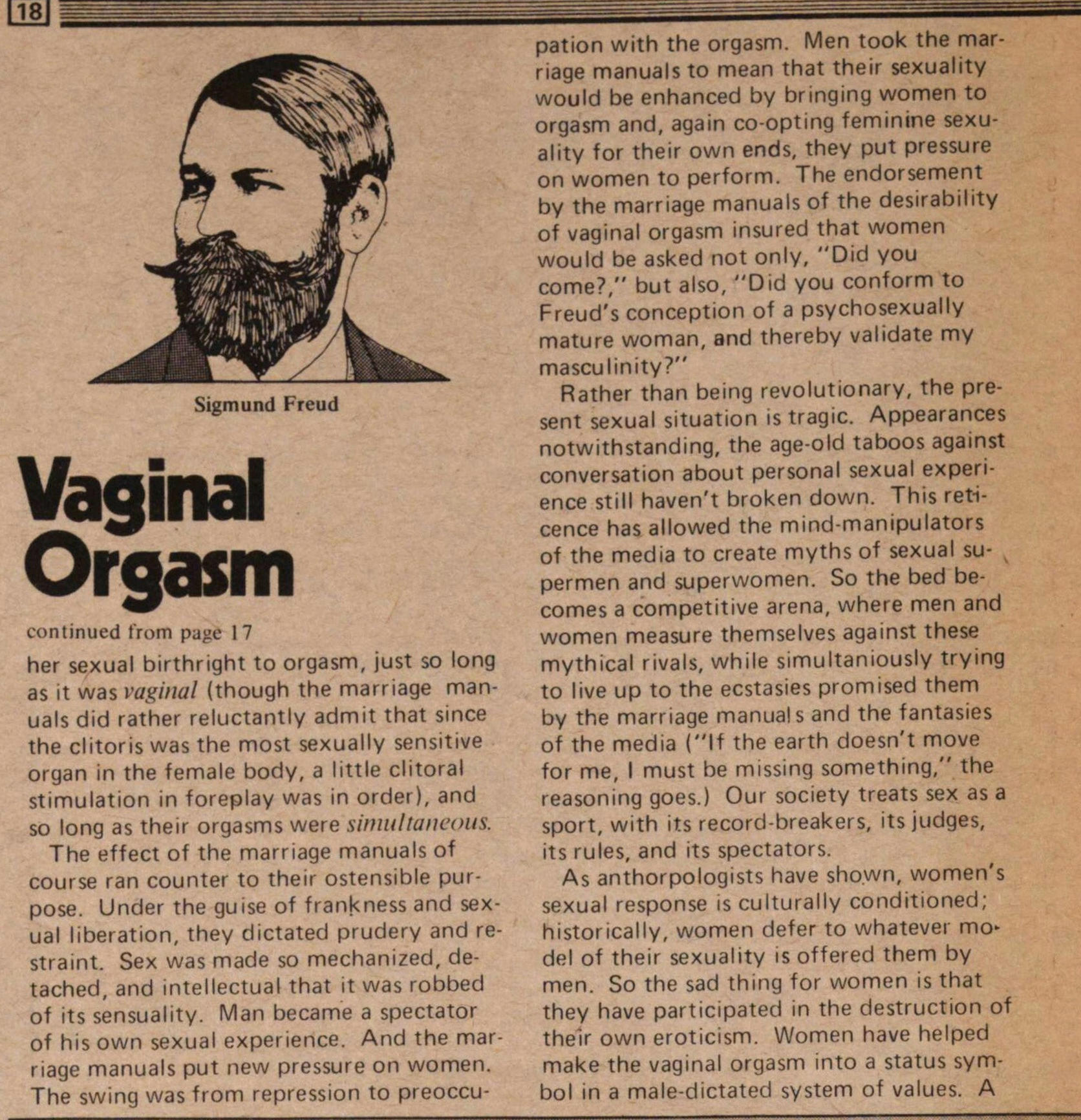 The Myth Of The Vaginal Orgasm image