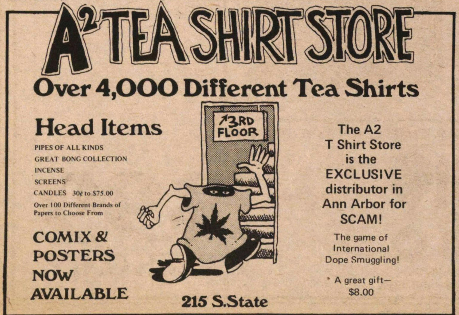 A2 Tea Shirt Store image
