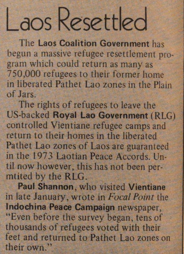Laos Resettled image