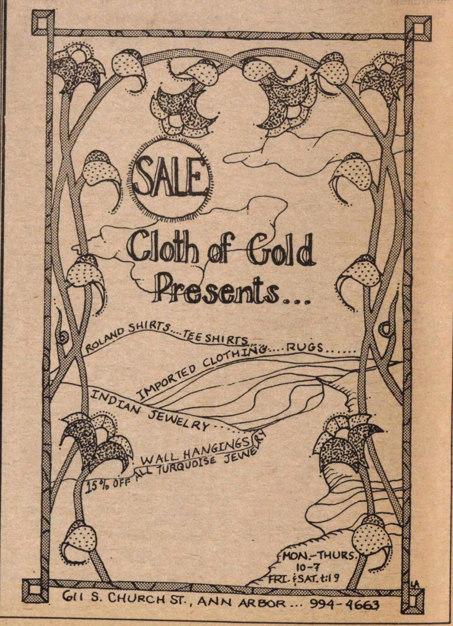 Cloth Of Gold Presents... image