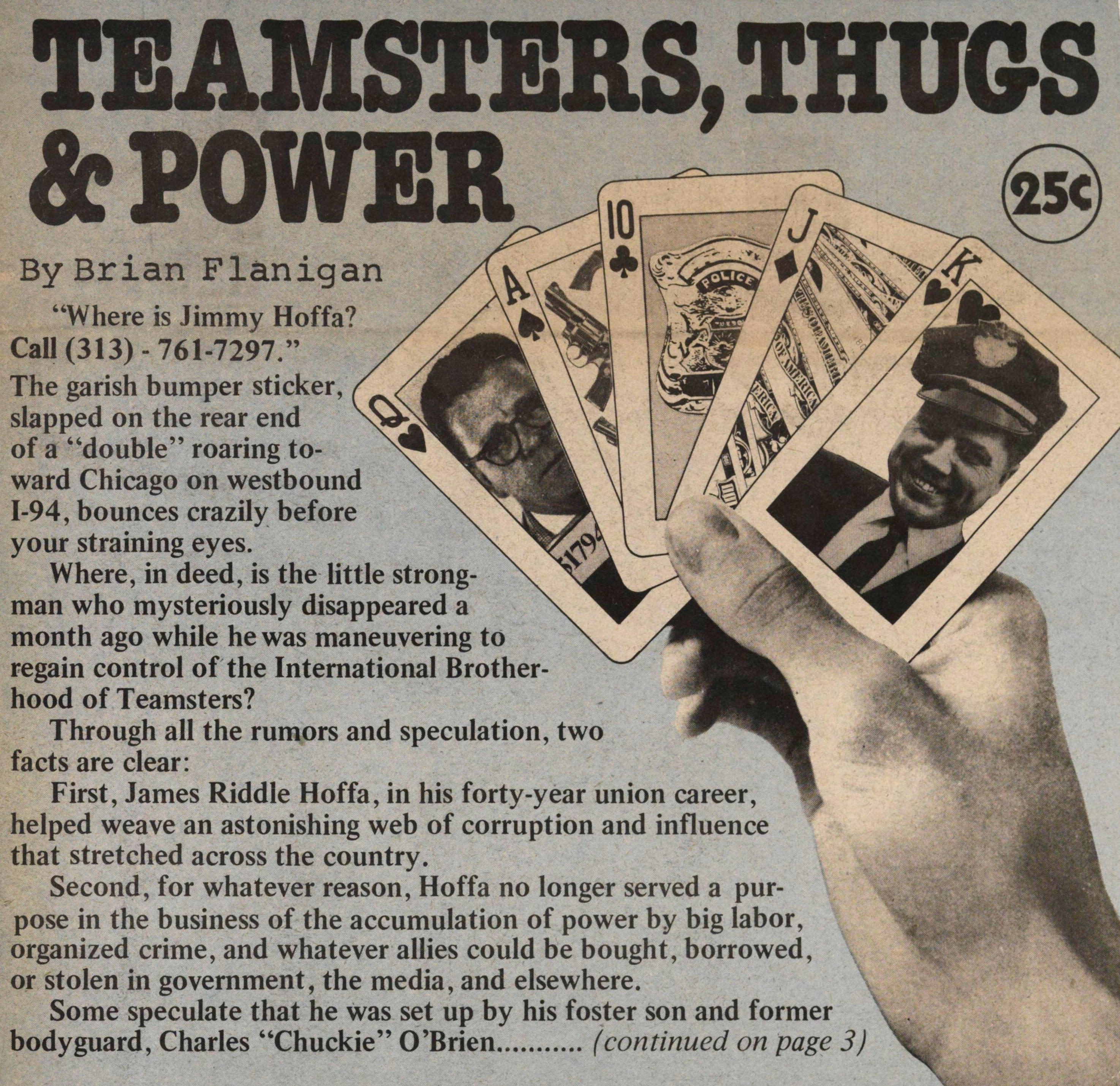 Teamsters, Thugs & Power | Ann Arbor District Library