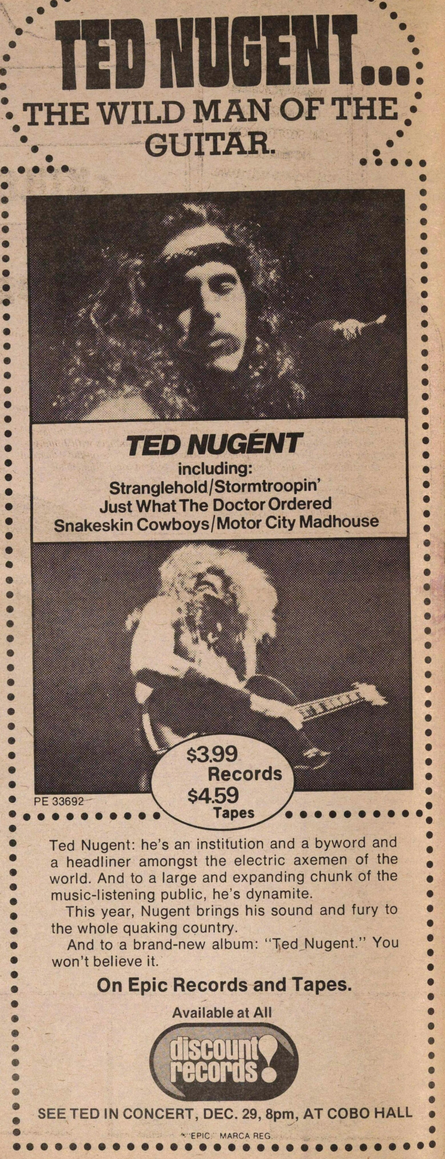 Ted Nugent... image