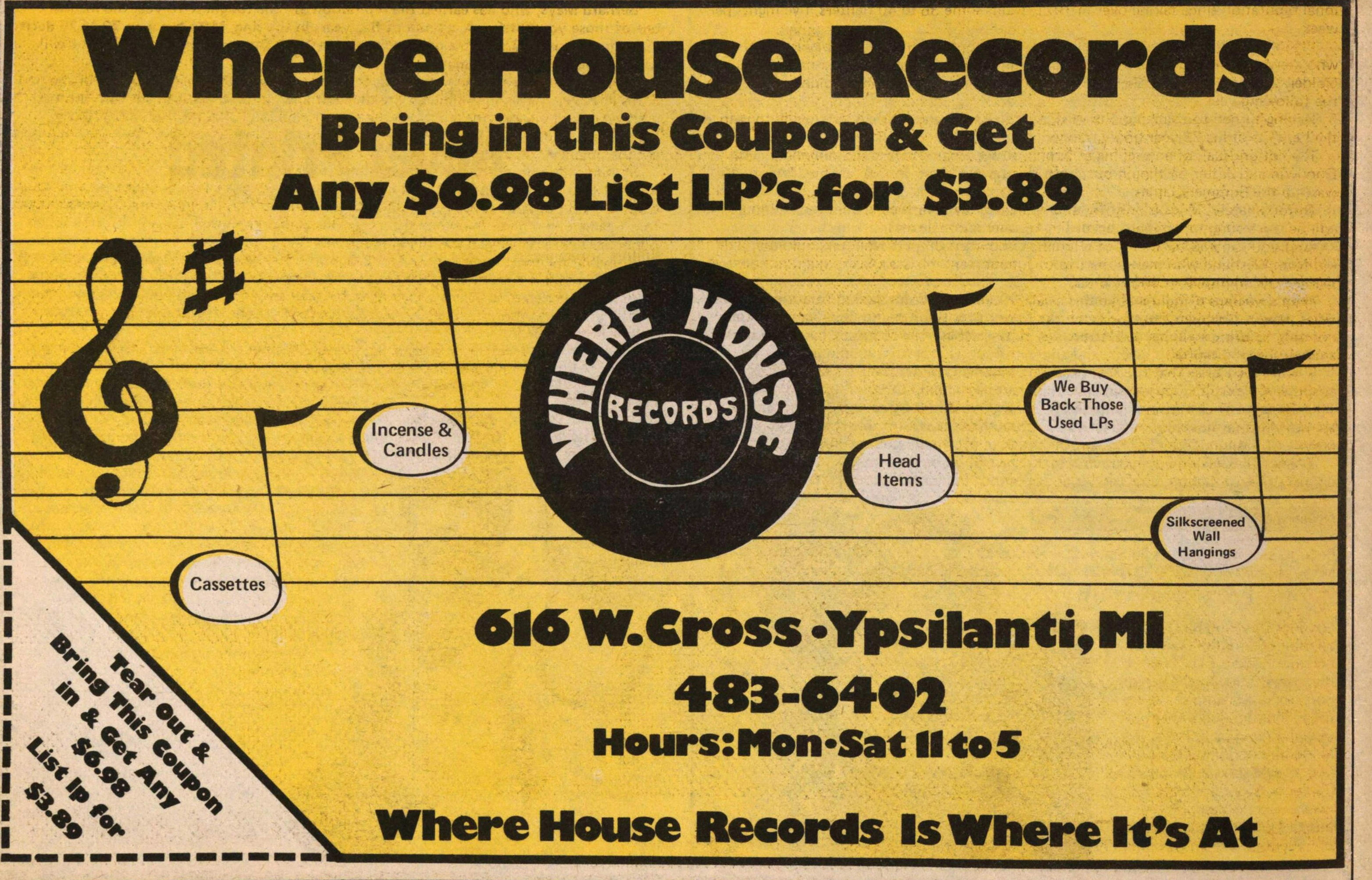 Where House Records image
