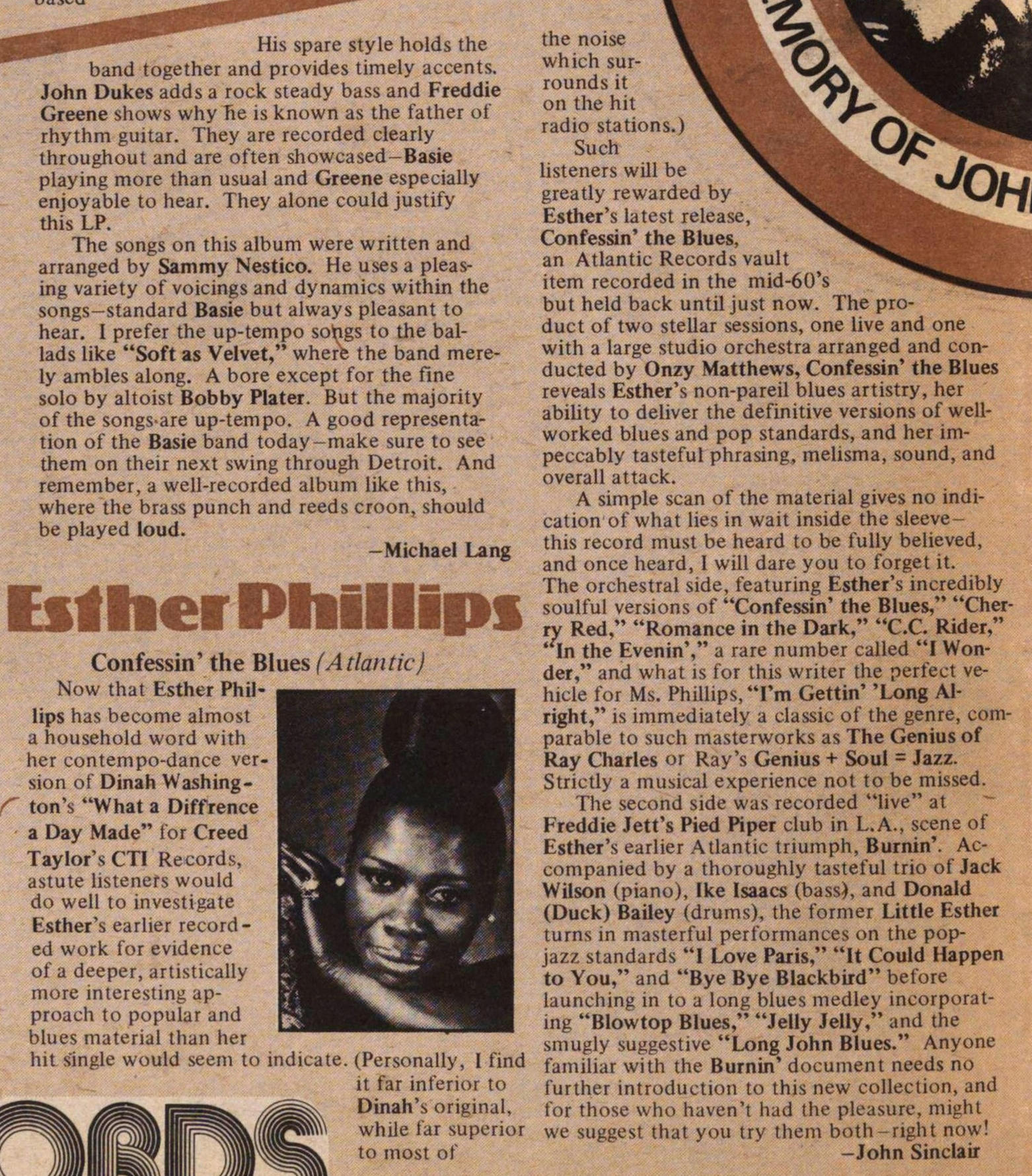Esther Phillips image