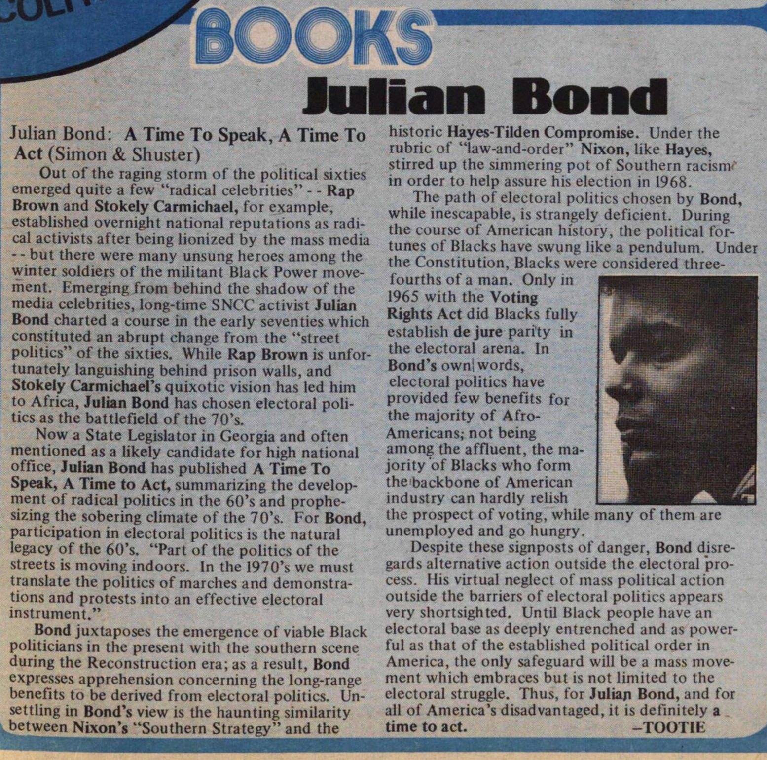 Julian Bond image