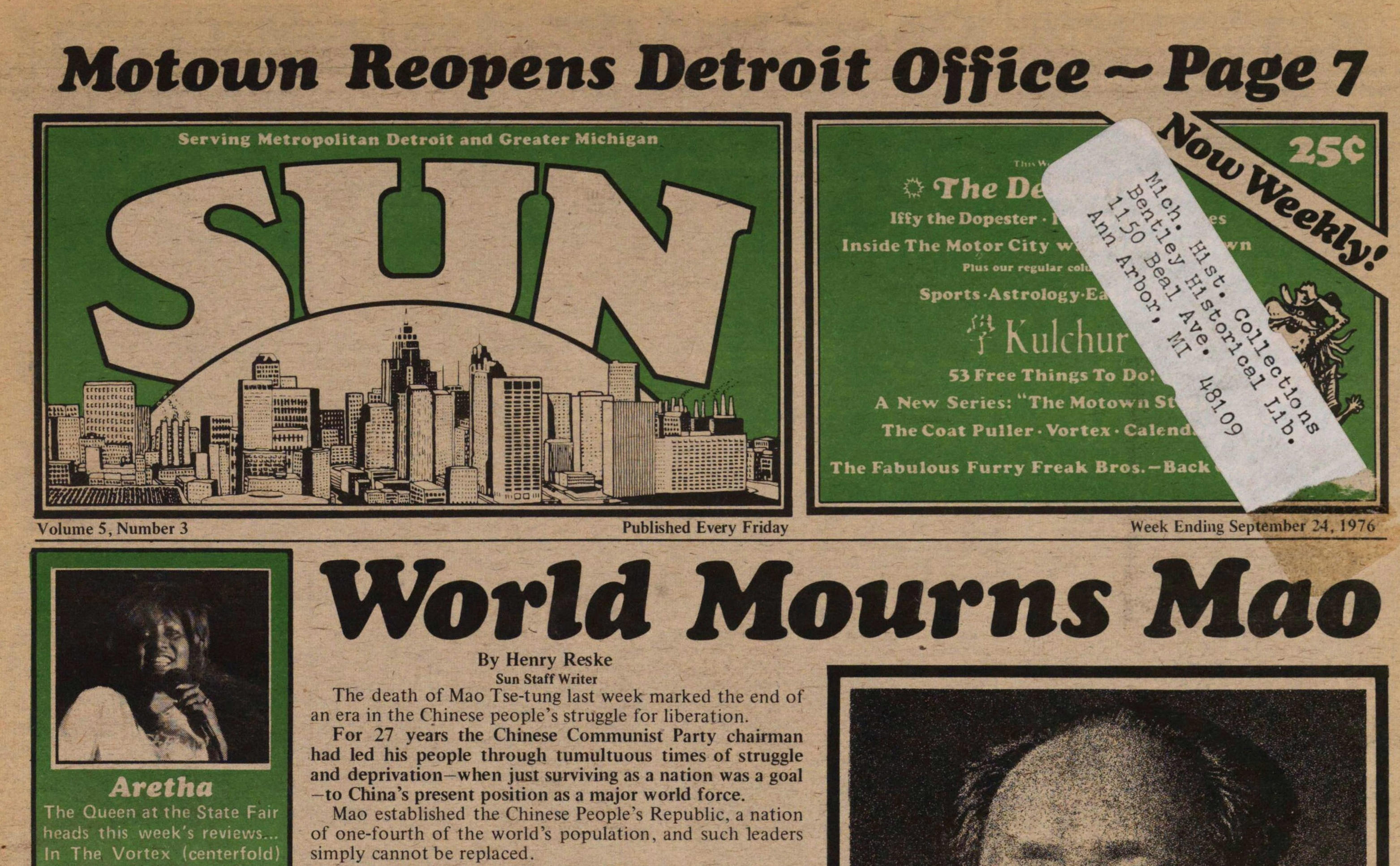 Motown Reopens Detroit Office- Page 7 image