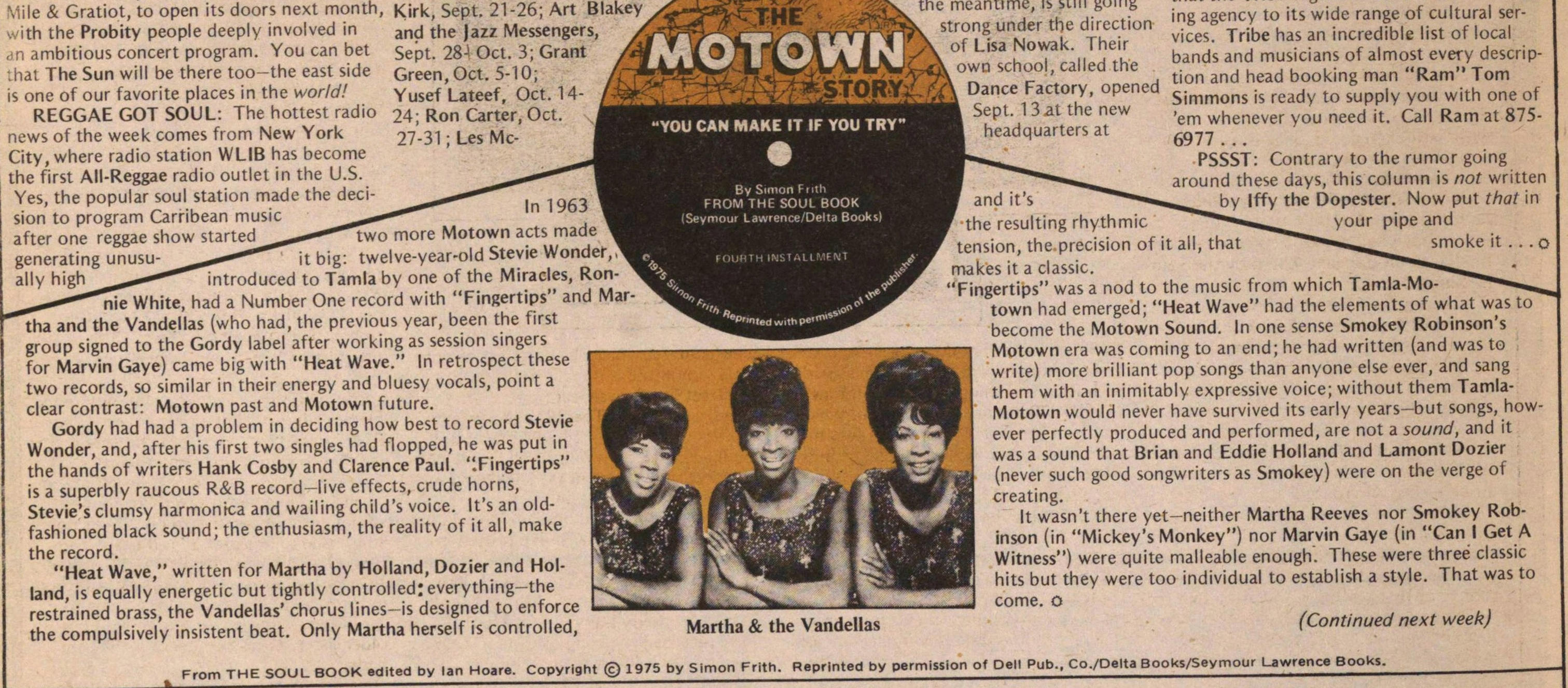 The Motown Story image