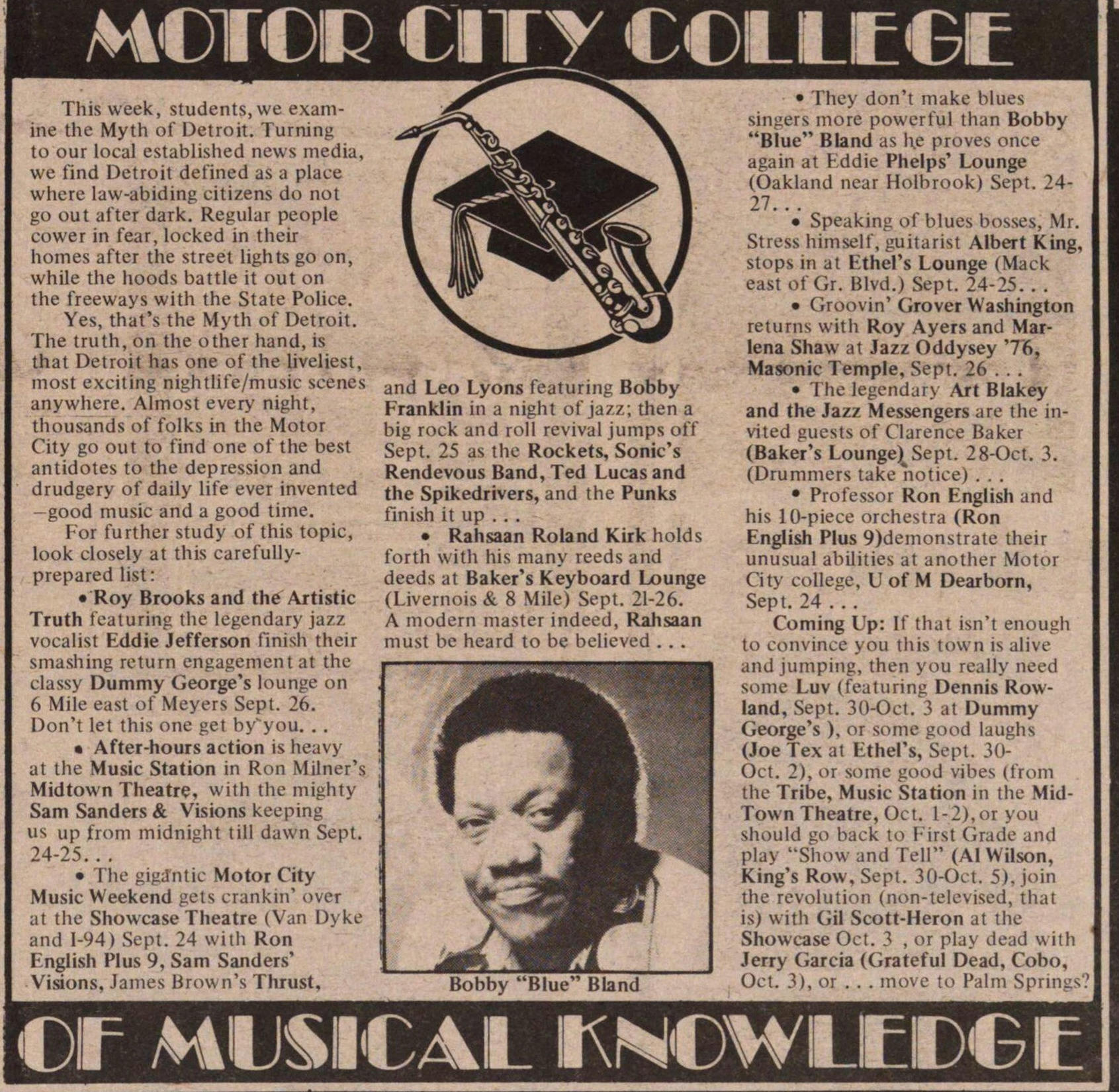Motor City College Of Musical Knowledge image