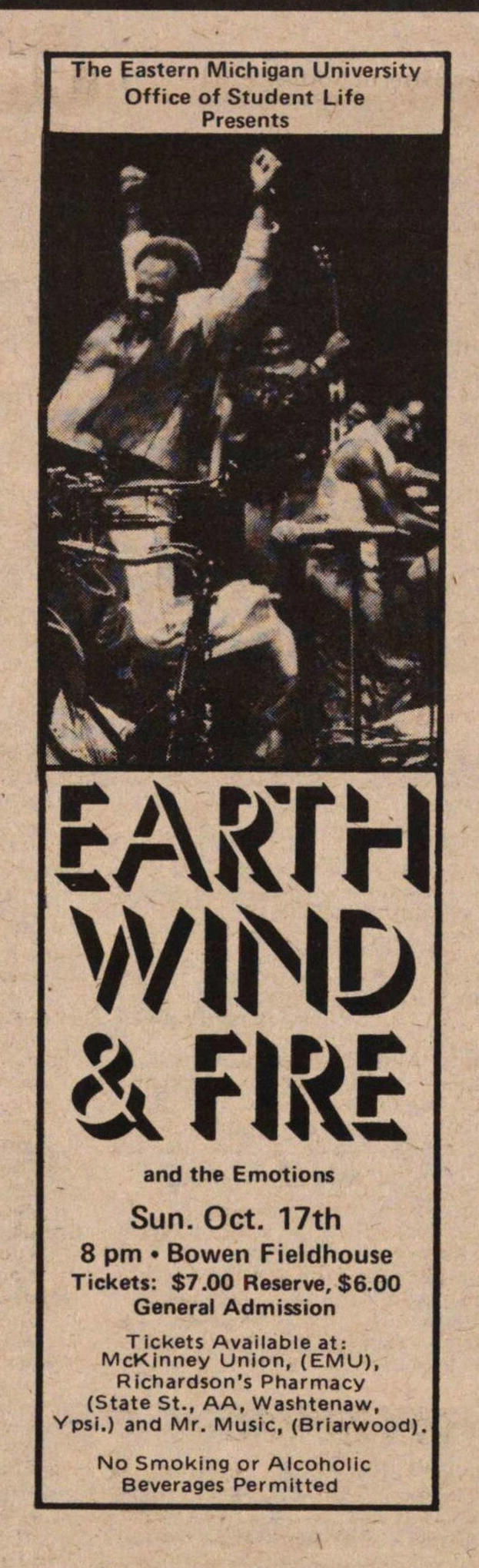 Earth Wind & Fire image