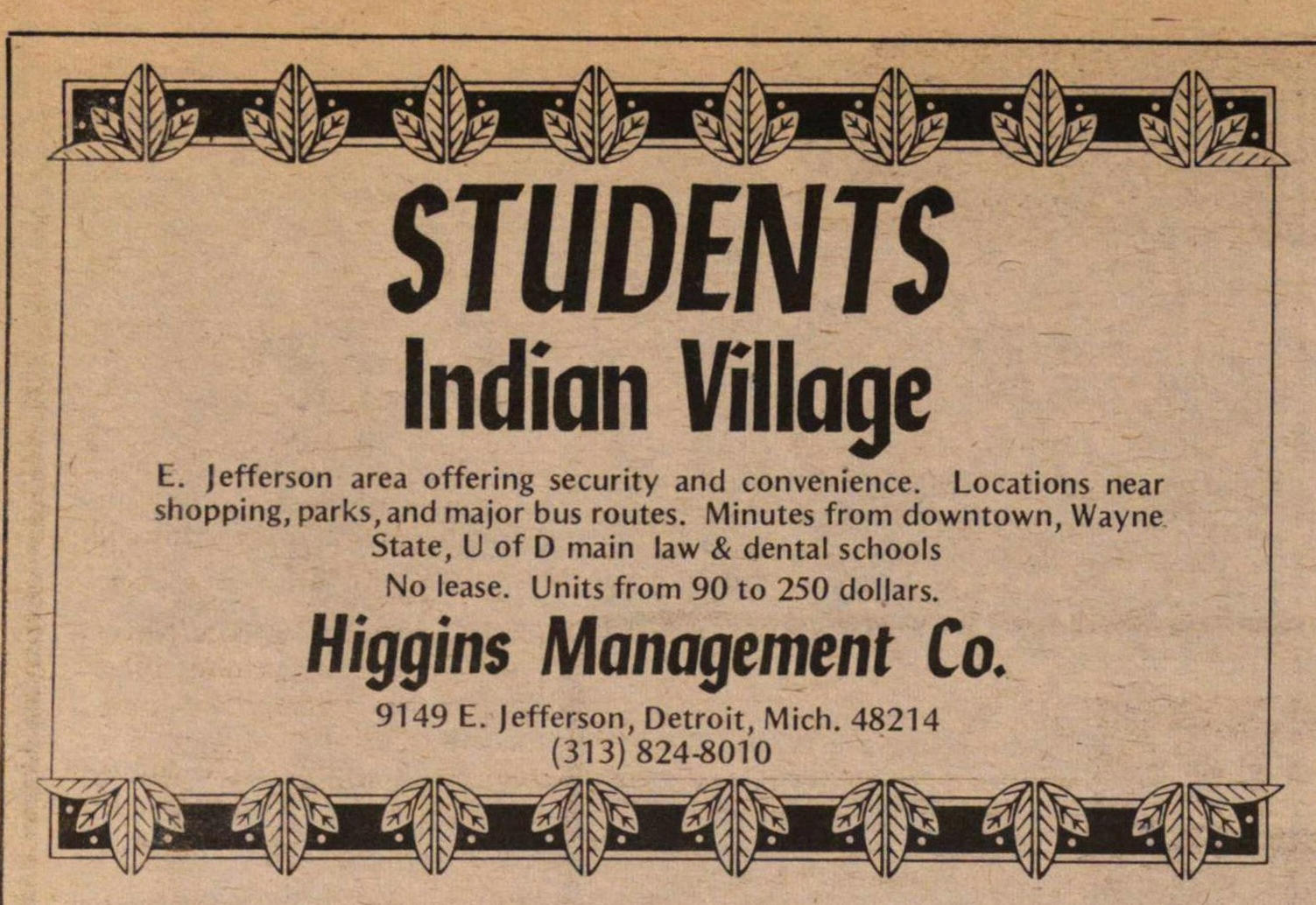 Higgins Management Co. image