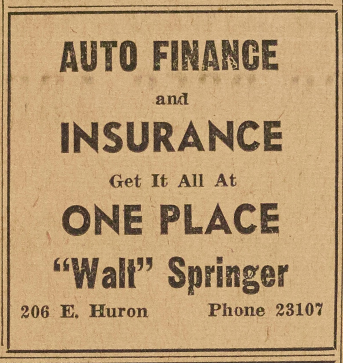 Auto Finance and Insurance - Walt Springer image