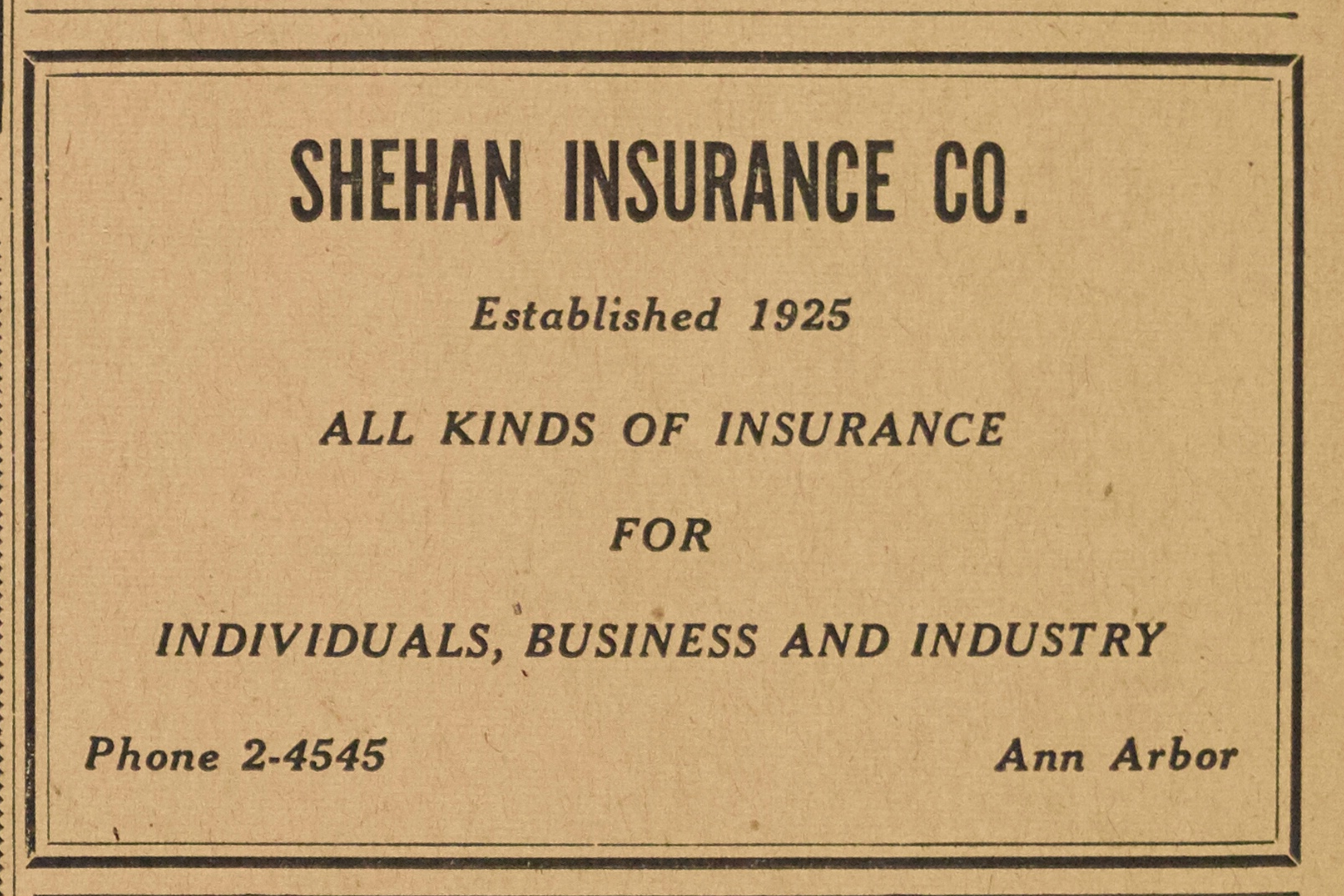 Shehan Insurance Co. image