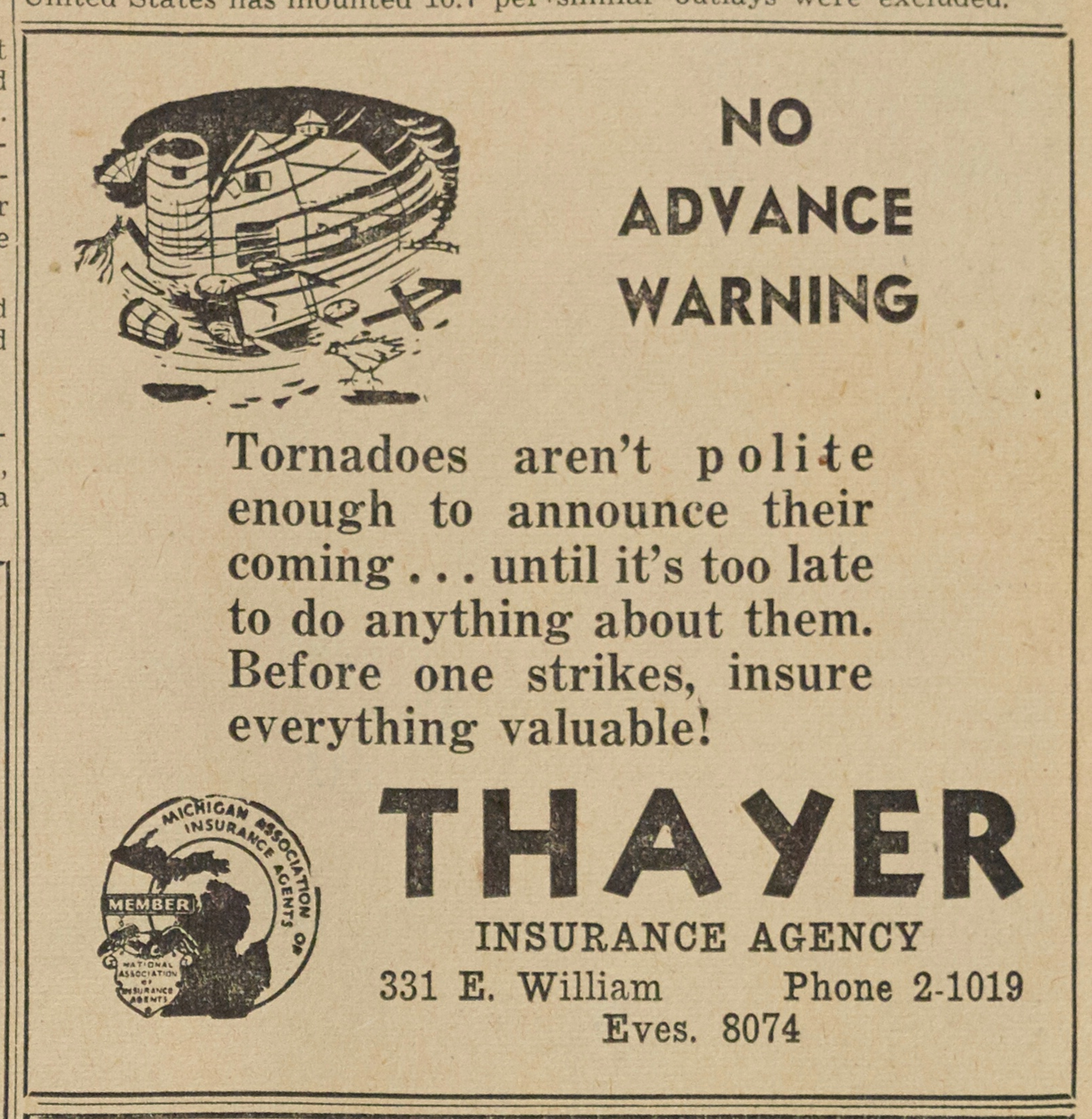 Thayer Insurance image