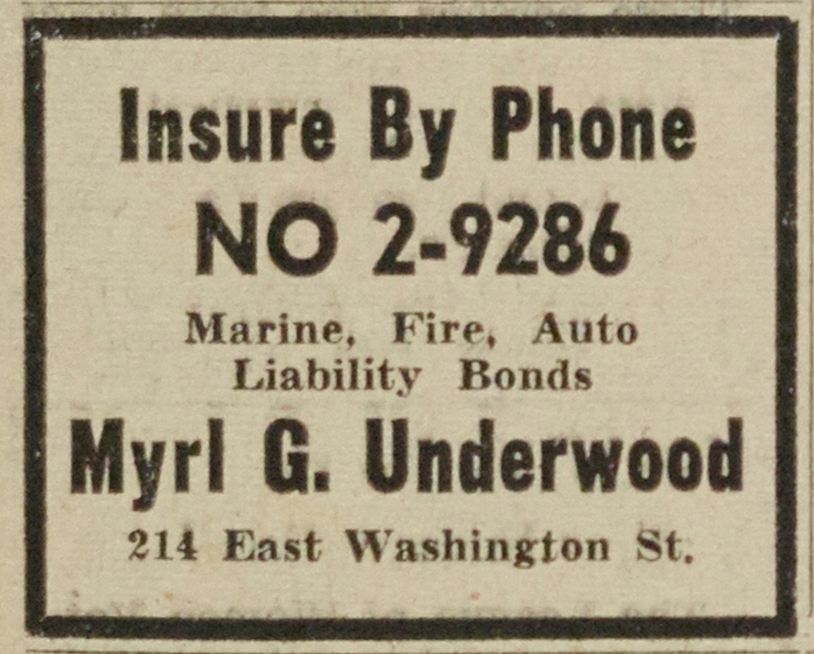 Myrl G. Underwood - Insurance Agent image