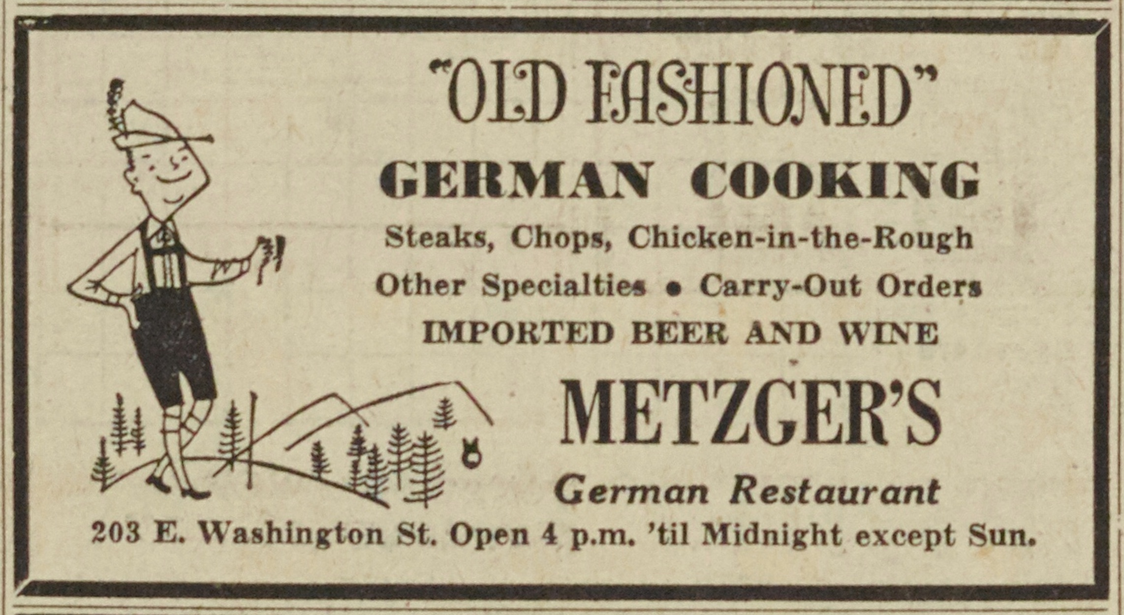 Metzger's German Restaurant image