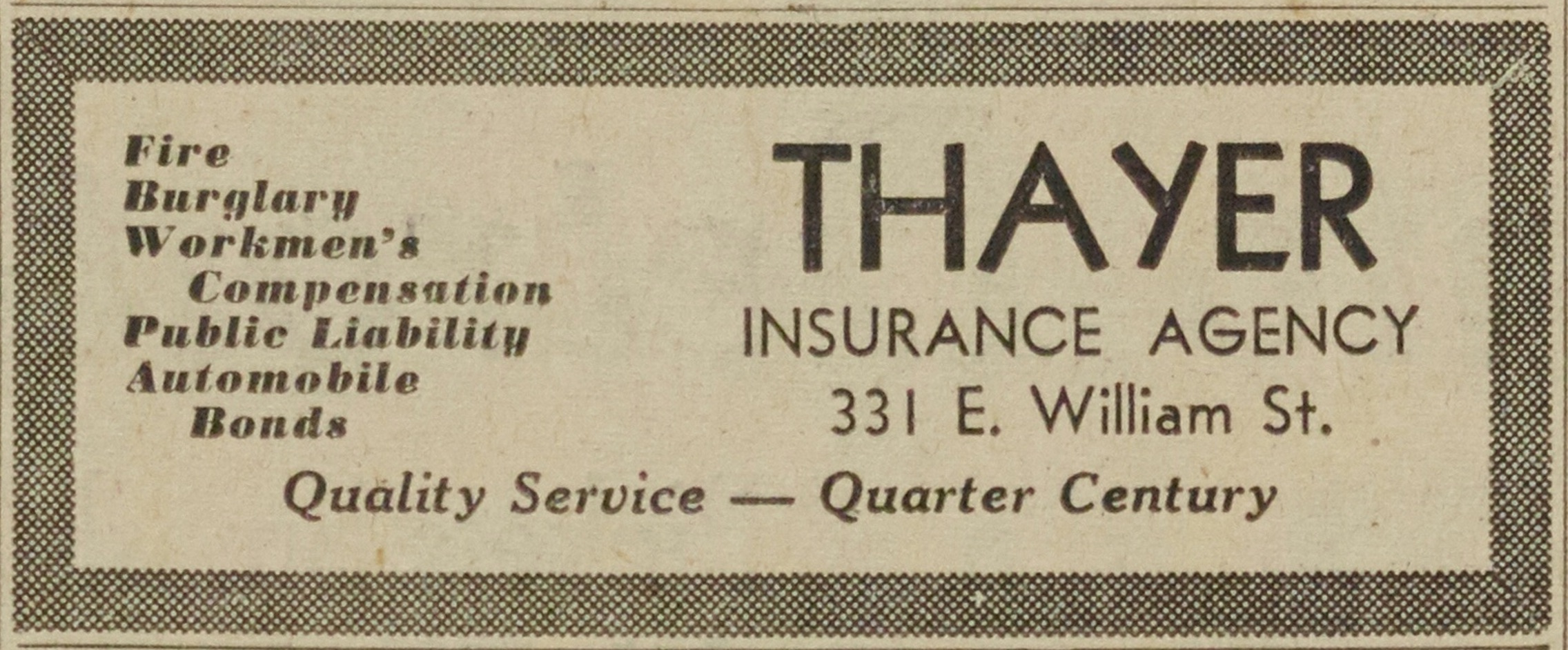 Thayer Insurance Agency image