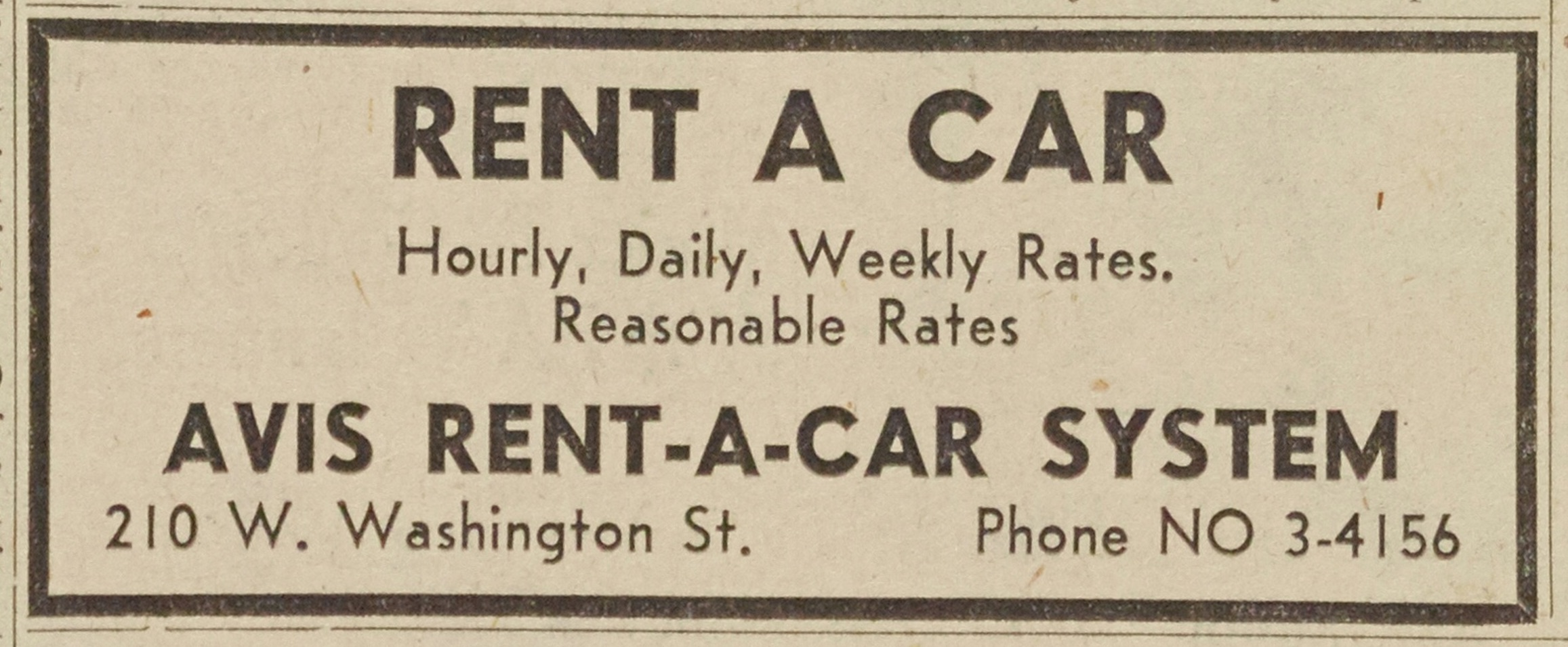 Avis Rent-A-Car System image