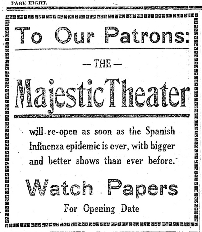 Majestic Theater Announcement image