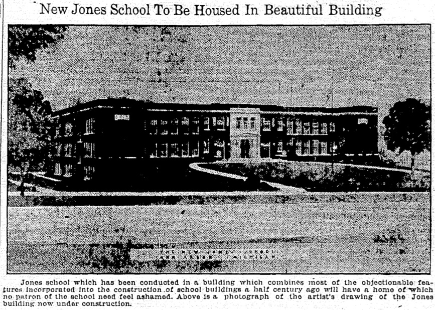 New Jones School To Be Housed In Beautiful Building image